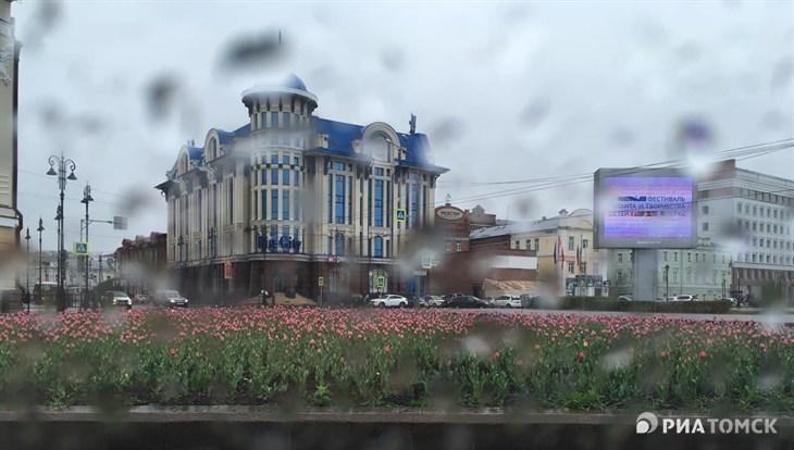 Синоптики обещают в Томске в понедельник грозу и +25 градусов