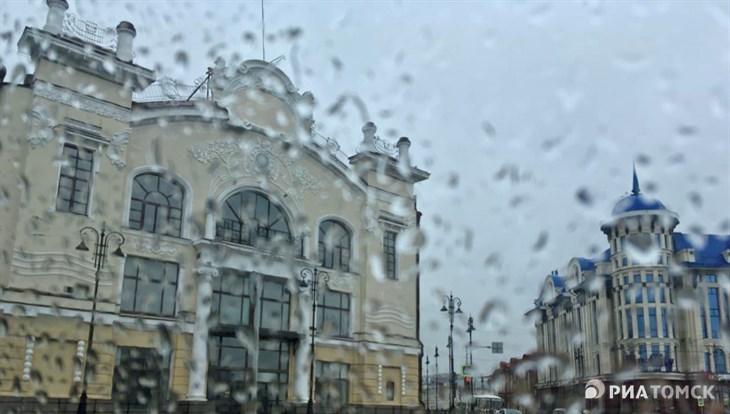 Кратковременные дожди и гроза ожидаются в Томске во вторник