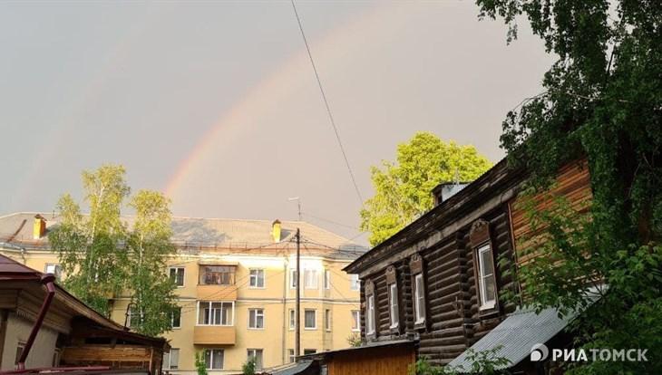 Синоптики прогнозируют жаркую погоду и грозу в четверг в Томске