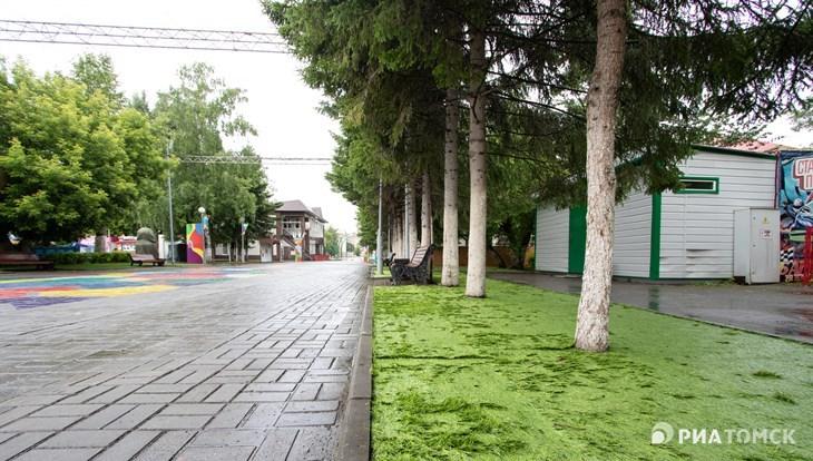 Прохладная погода и небольшой дождь ожидаются в Томске в пятницу