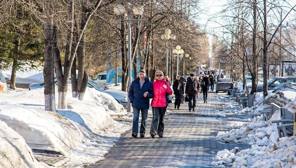 Четверг в Томске будет теплым, на дорогах ожидается гололедица