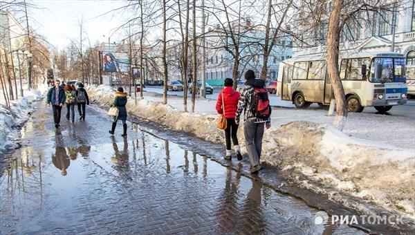 Теплая погода сохранится в Томске во вторник, возможен дождь