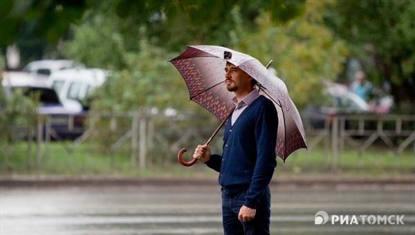Синоптики обещают небольшой дождь во вторник в Томске