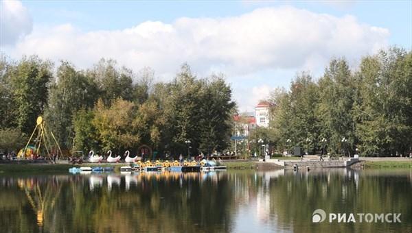 Теплая погода без осадков сохранится в Томске в пятницу