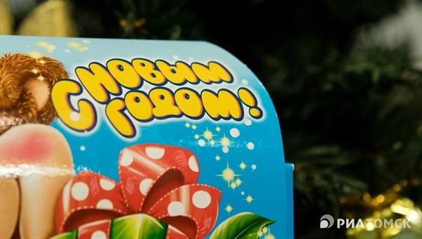 """""""КДВ Групп"""" подготовит для томских детей новогодние подарки от мэрии"""