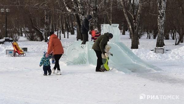 Потепление до минус 16 градусов ожидается в Томске в четверг