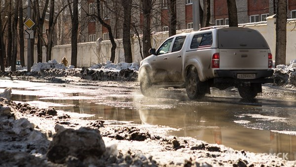 Теплая погода без осадков ожидается в Томске в понедельник