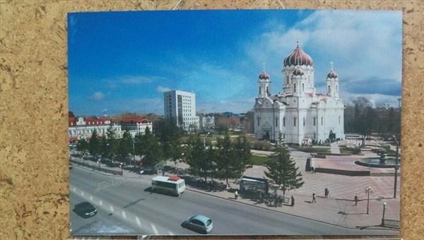 РПЦ требует восстановить храм на площади Новособорной в Томске