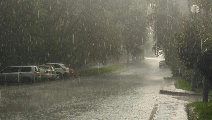 Жаркая, но дождливая погода ожидается в Томске в понедельник