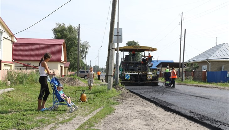 Власти: томичи заплатят за асфальт у дома 600–1000 руб за квадрат