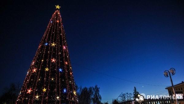 Восемнадцать новогодних елок будут установлены в Томске к Новому году