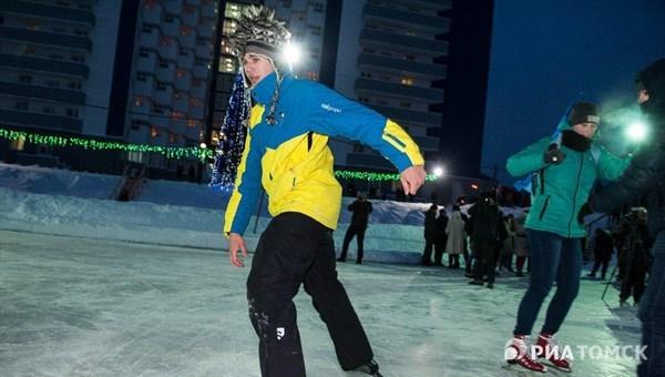 Вход на катки Томска зимой вновь будет бесплатным
