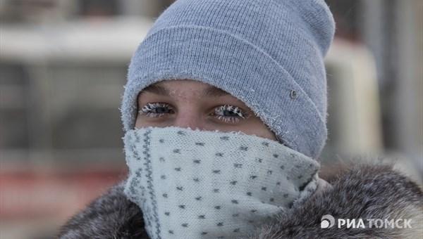 Морозная погода без осадков сохранится в Томске в среду
