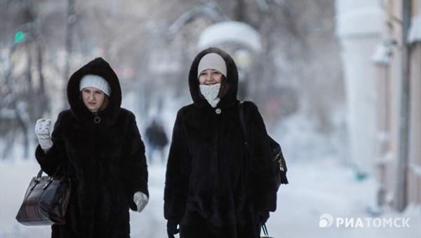 Небольшой снег и ветер до 13 м/с ожидаются в Томске в четверг