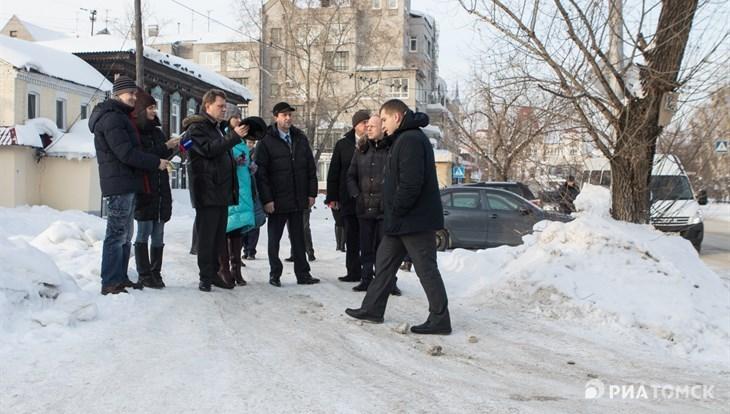 Заммэра: на уборку снега в Томске за 10 дней потрачено 45 млн руб