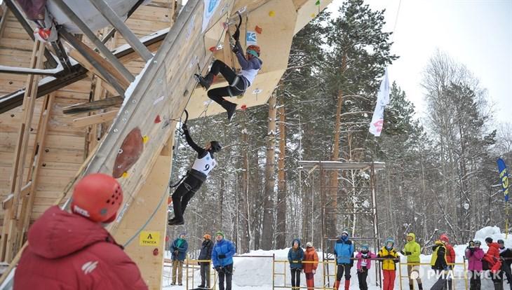 Ледовый спринт: в Томске проходит Кубок РФ по ледолазанию