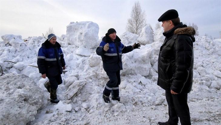Кляйн: снегоотвалы для Томска рентабельнее снегоплавильных машин