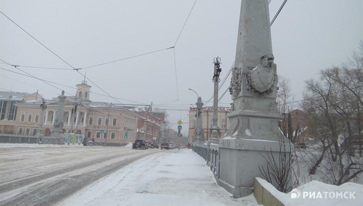 Вторая декада января в Томской области будет прохладной и снежной