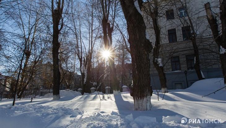 Синоптики обещают потепление и снег в Томске в первый день весны