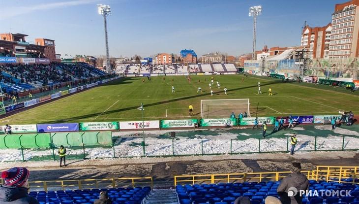 Проект стадиона для ФК «Томь» начали готовить в Томской области