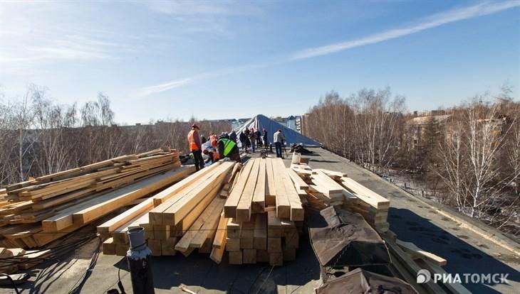 Капремонт запланирован в 230 домах Томской области в 2019 году