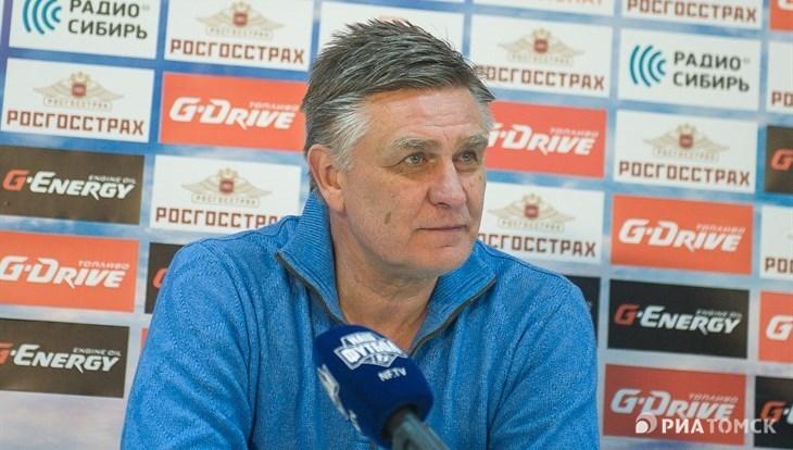 Валерий Петраков: «Томь» во втором тайме с «Зенитом» играла интереснее
