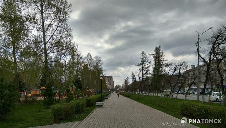 Синоптики прогнозируют дождь и порывистый ветер в Томске в среду