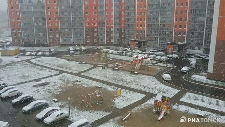 Синоптики прогнозируют снег и ветер до 14 м/с во вторник в Томске