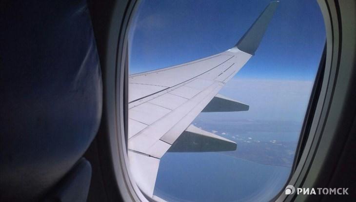 Задержанный рейс Томск — Москва вылетел спустя 5 часов
