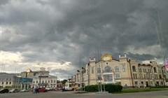 Дождь и порывистый ветер ожидаются в Томске в первый день лета