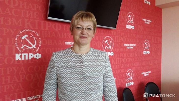 ТАСС: КПРФ поддержит местного депутата Барышникову на выборах томского губернатора