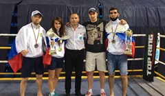 Tomsk athletes got gold and silver medals on kickboxing World Cup