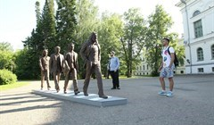 Monument of The Beatles is at TSU by beginning of admission campaign