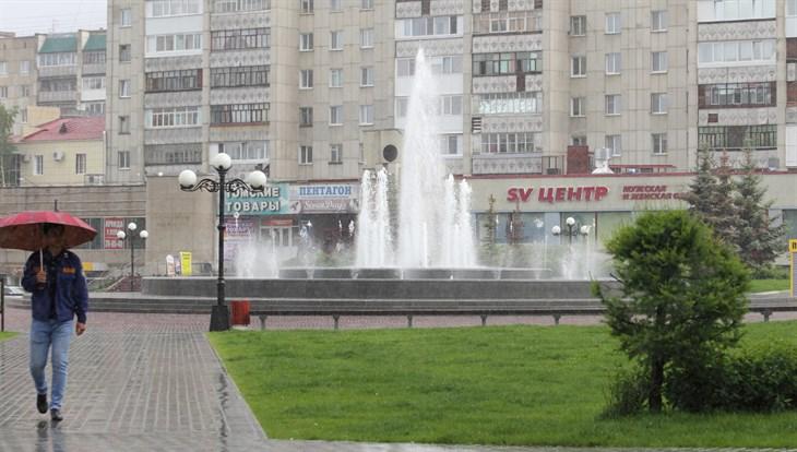 Прохладная и дождливая погода сохранится в Томске в среду