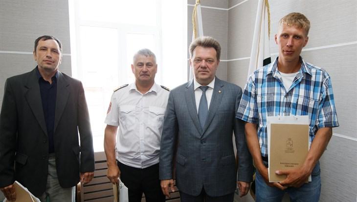 Мэр Томска Иван Кляйн поблагодарил спасателей тонувшего в реке 9-летнего ребенка