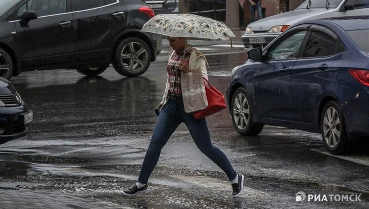 Порывистый ветер ожидается в Томске во вторник, возможен дождь