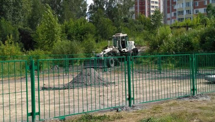 Первая в Томске площадка для выгула собак откроется в середине августа