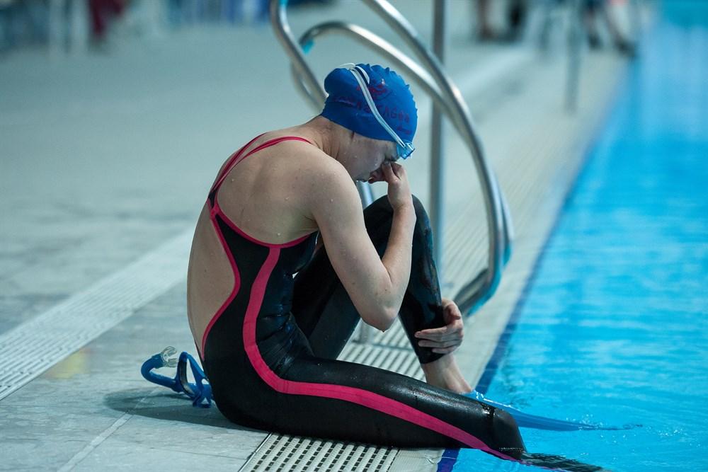 Плавание в ластах картинки