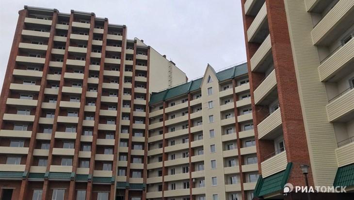 Дом на Нижнем, 47 в Томске частично введен в эксплуатацию спустя 9 лет