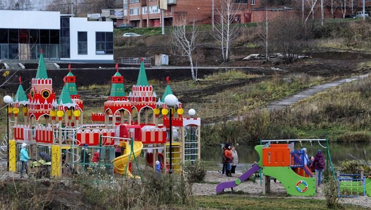 Проект сквера в Солнечном в Томске стал одним из лучших в РФ