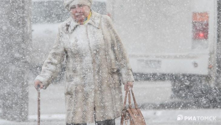 МЧС предупреждает томичей о сильном ветре и снеге в ближайшие 2 дня
