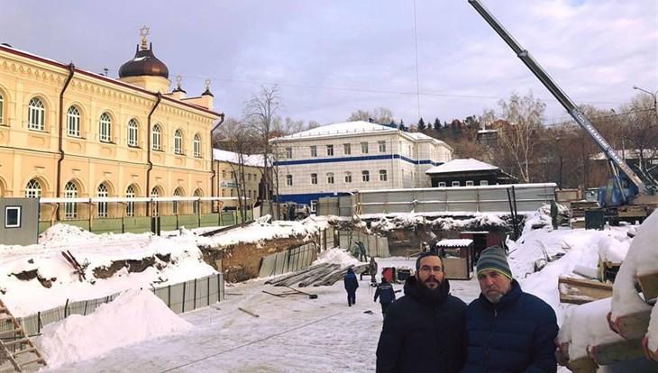 Строительство Центра толерантности возобновилось в центре Томска