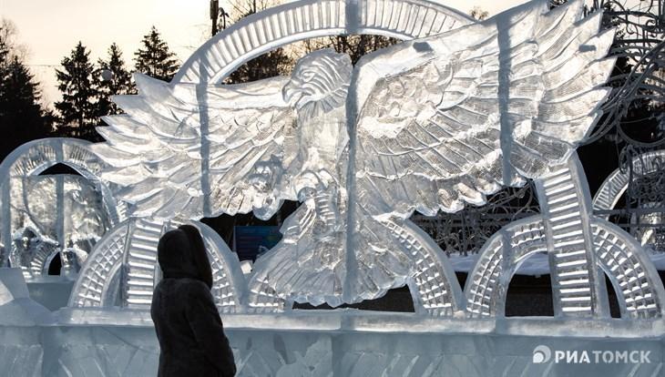 Томские ледовые городки закрыли из-за оттепели