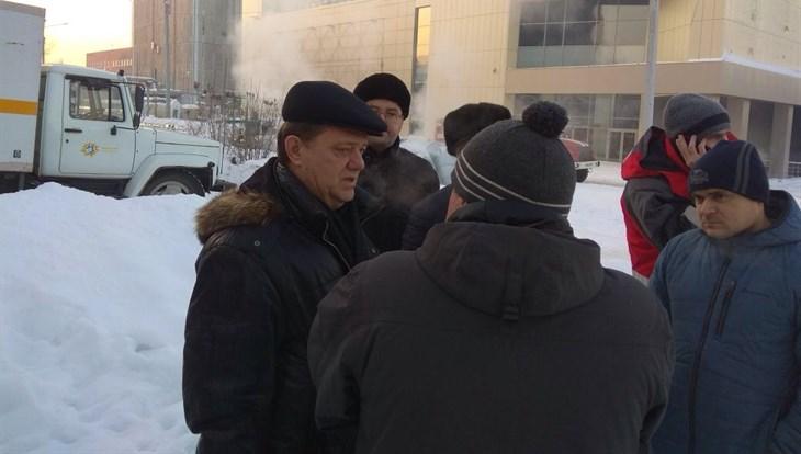 Жвачкин высоко оценил работу мэрии при порыве на теплосетях в Томске