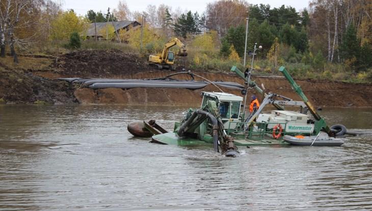 Экологическая реабилитация двух прудов в Томском районе будет завершена в 2018 году
