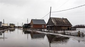 Вода отошла от жилых домов в окрестностях Томска