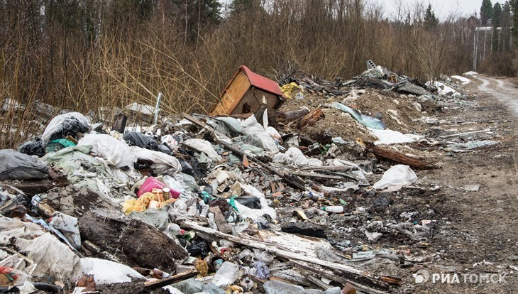Зеленая лужайка будет на месте мусорного полигона под Томском к 2028г