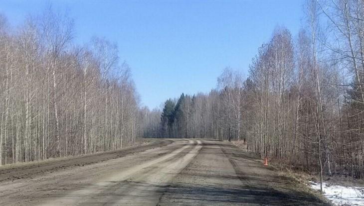 Toyota слетела с трассы в Томской области, три человека в больнице