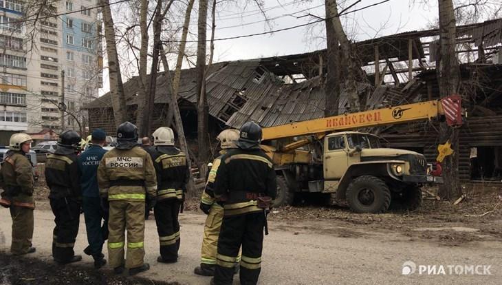 Спасатели не нашли людей под обломками дома на 5-й Армии в Томске