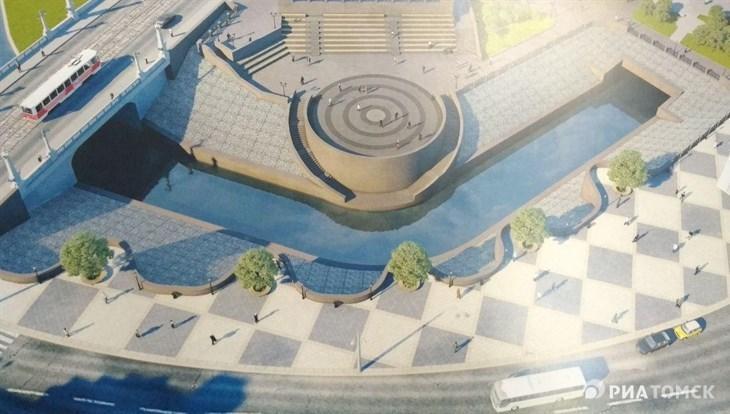 Смотровые балконы появятся на набережной Ушайки в Томске в октябре